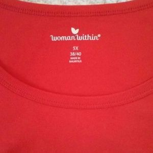 Woman's Within 3/4 Sleeve